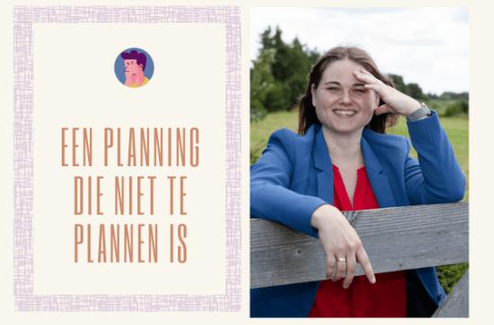 Een planning die niet te plannen is